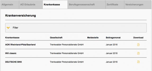 Bescheinigungen & Zertifikate verwalten, prüfen und downloaden